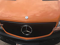 Mercedes Sprinter 2006-2018 гг. Зимняя накладка на решетку (2013↗) Матовая