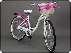 Велосипед жіночого міста Goetze BLUEBERRY 28 кошик !!!