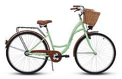 Женский велосипед Goetze 28 на 3 передачи + КОШ