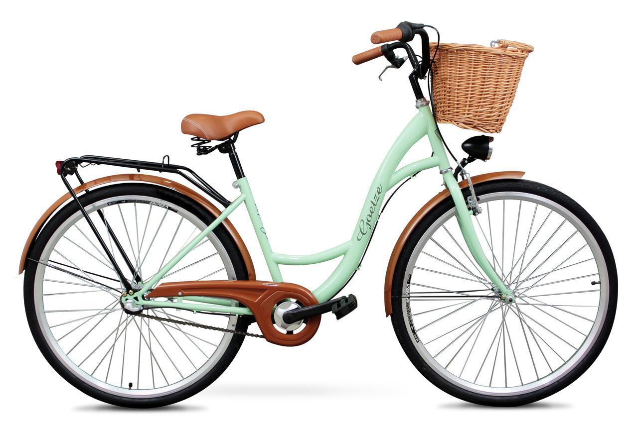 Женский велосипед GOETZE 28 3 перед +корзина