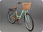 Женский городской велосипед GOETZE 28 3biegi корзина бесплатно! Цвет - чорний, фото 5