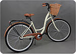 Женский городской велосипед GOETZE 28 3biegi корзина бесплатно! Цвет - капучино, фото 3