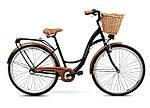 Женский городской велосипед GOETZE 28 3biegi корзина бесплатно! Цвет - капучино, фото 9