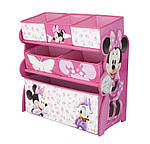 Органайзер для игрушек Disney Minnie Mousе контейнер, фото 4