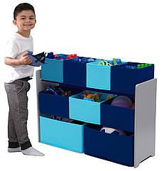 Органайзер для іграшок, полиця з ящиками.