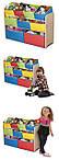 Органайзер для детских игрушек с разноцветными ящиками, фото 2