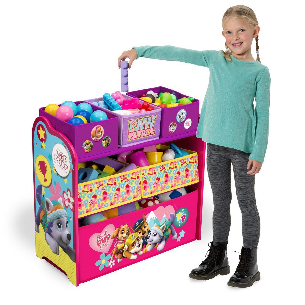 Органайзер для игрушек с ящиками Собачий патруль