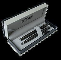 Ручка роллер Ручка комплект (Р+Ш) в подарочном футляре P, сталь Regal R5031611.P.BR