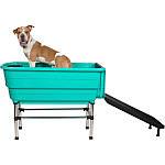 Ванна с рампой для животных 124,5x69,5x90cm Blovi Booster Pet Tub, фото 6