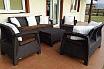 Набор садовой мебели Allibert Corfu relax 7, фото 8