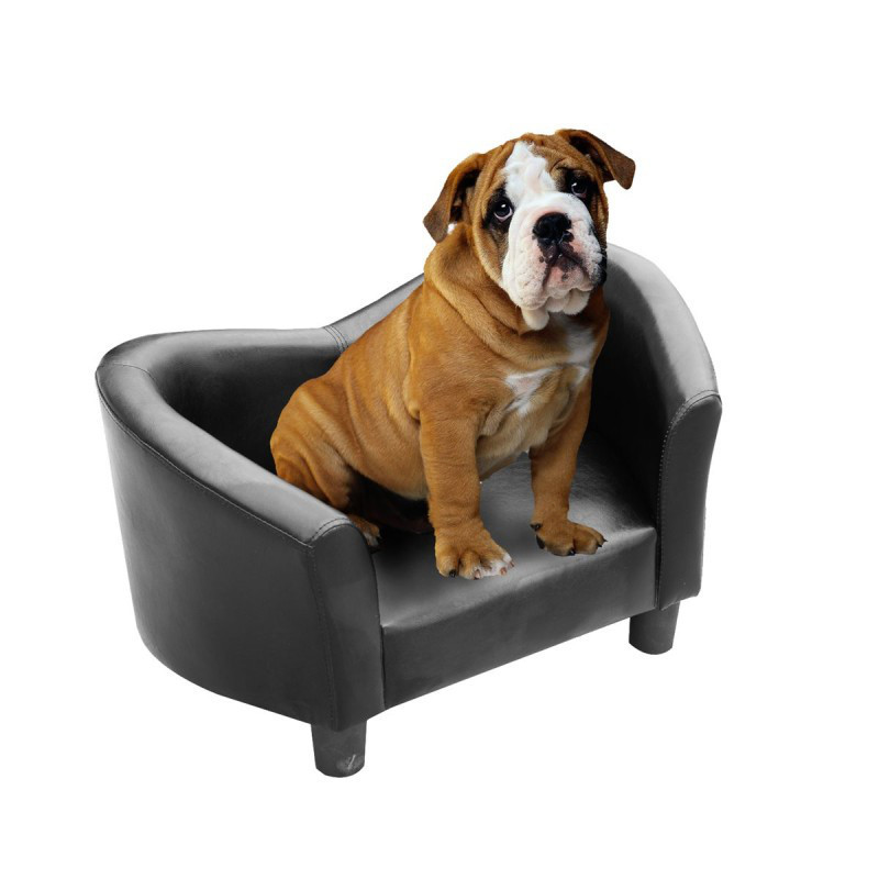 Софа канапа для собаки черный PawHut