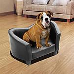 Софа канапа для собаки черный PawHut, фото 2