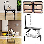 Стол для груминга животных складной 92 х 62 см Германия, фото 3