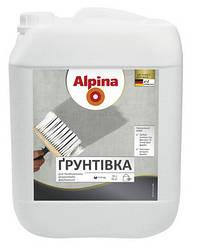 Alpina Грунт - готовая к применению акриловая грунтовка глубокого проникновения