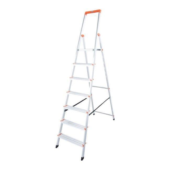 Алюминиевые лестницы Stand-7 уровней KRAUSE SOLIDY