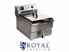 Фритюрница - 16 литров - 400 V - -Royal Catering RCSF-16ETH