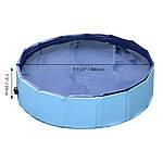 ПЛАВАТЕЛЬНЫЙ БАССЕЙН ДЛЯ ЖИВОТНЫХ BLUE PawHut 80x20, фото 2