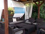 Набор садовой мебели Allibert Corfu Set Max коричневый, фото 5