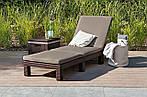 Набор садовой мебели Allibert Corfu Set Max коричневый, фото 8