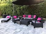 Садовая мебель Corfu Set Max Венгрия коричневая, фото 7