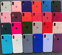 Silicone Case силиконовый чехол на айфон iPhone XR/X Max/6/6s/7/8/6+/7+/8+ Plus (силіконовий чохол для айфона)