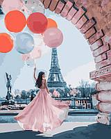 Картина по номерам  Париж желаний