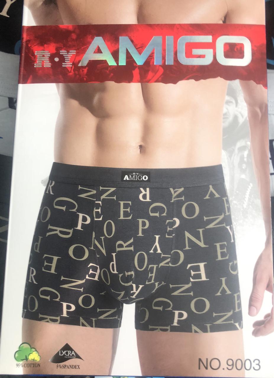 """Чоловічі Боксери Стрейчеві Марка """"R. Y AMIGO"""" Арт 9003"""
