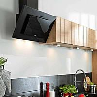 Вытяжка кухонная   BLACK GLASS LED 60CM