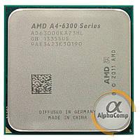 Процессор AMD A4-6300 (2×3.70GHz/1Mb/FM2) БУ