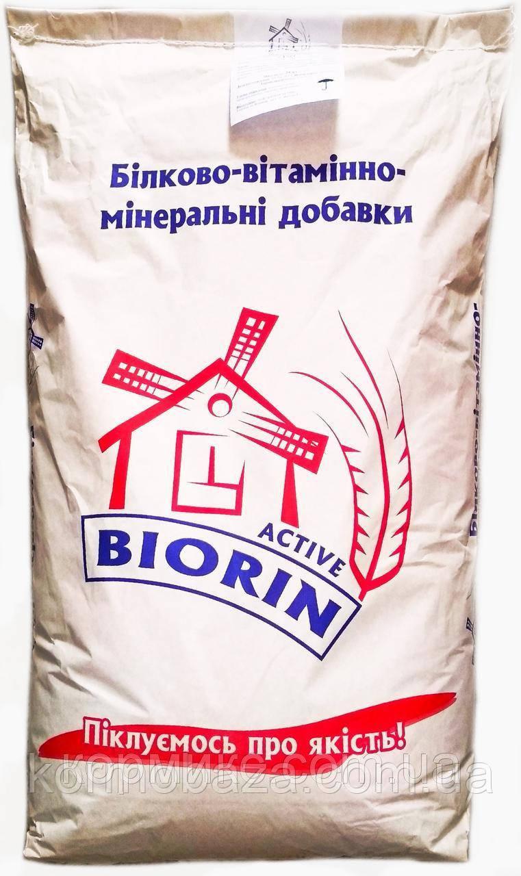 Добавка БМВД для свиней финиш BIORIN Active 12%