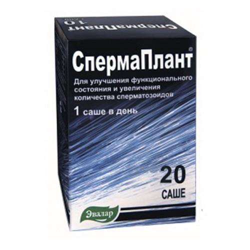 Спермаплант n20 саше по 3,5г, Эвалар