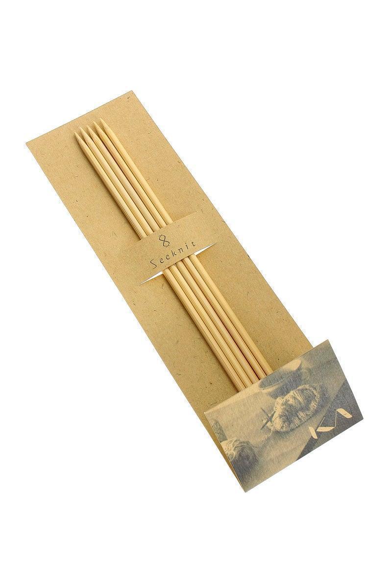 Носочные спицы № 3.0мм KA Seeknit Shirotake 15см