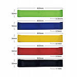 Лента эспандер для фитнеса  5 шт, фото 2