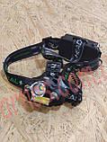 Акумуляторний налобний ліхтар BL-T48-T6, фото 2