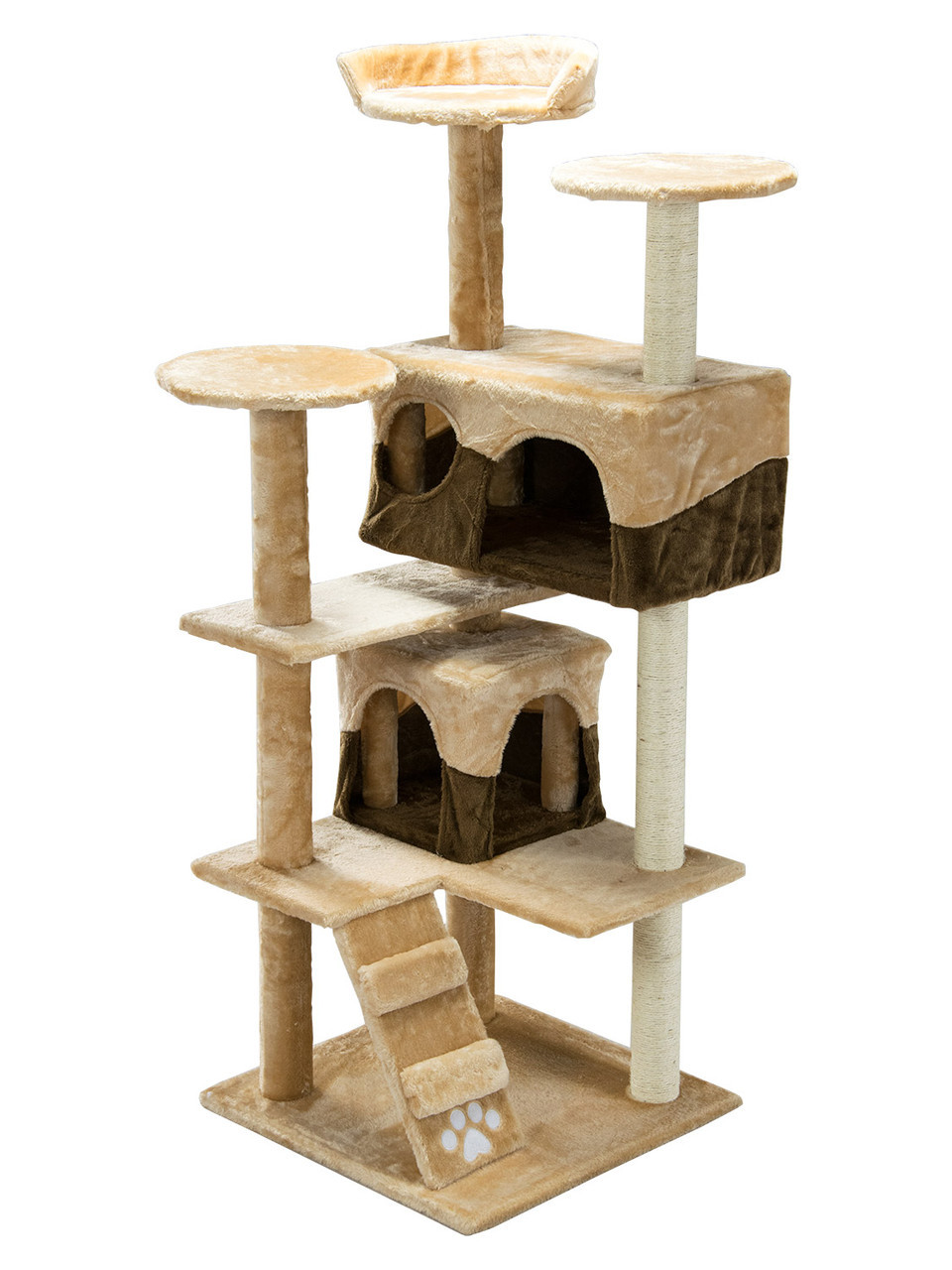 Когтеточка домик для кошек 130 см