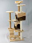 Когтеточка домик для кошек 130 см, фото 8