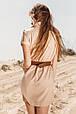 Трикотажное платье с ремнем, фото 3