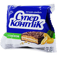 Печенье Супер-Контик с орехом 50г 10128020