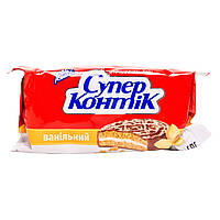 Печенье Супер-Контик с ванилью 100г 10155456