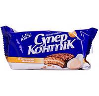 Печенье Супер-Контик со сгущенным молоком 100г 1064488