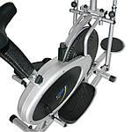 Эллиптический кросс-тренажер Twister dumbbellsONE FITNESS 3in1, фото 6