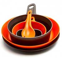 Туристичний набір Wildo EXPLORER KIT - Orange & Dark Grey 67257, фото 1