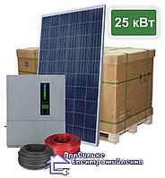 """Сонячна електростанція - 25 кВт """"Classic"""" для зеленого тарифу"""