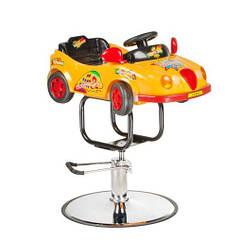 Детское парикмахерское кресло BW-602 желтый HIT