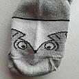 Носки женские серые с принтом размер 36-40, фото 3