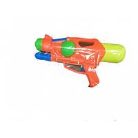 Водный пистолет 30 см с насосом 2 цвета RPC (LY802)