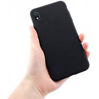 Черный силиконовый чехол Samsung Galaxy A10 (2019) / A105