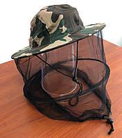 Шляпа с сеткой от комаров (100% хлопок), фото 1