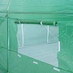 Садова теплиця оранжерея тунель з фольги 200 х 350 см (7 м2) зелений, фото 5