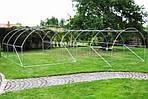 Садова теплиця оранжерея тунель з фольги 200 х 350 см (7 м2) зелений, фото 8